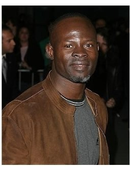 The Jacket Premiere: Djimon Hounsou