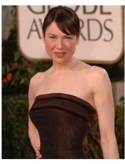 Renee Zellweger on the red carpet at the 62nd Golden Globe Awards
