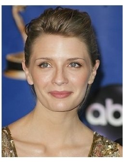 Mischa Barton backstage at the 2004 Emmy Awards