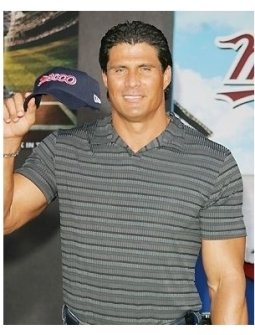 Jose Canseco at the Mr. 3000 Premiere