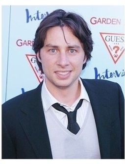 "Zach Braff at the ""Garden State"" Premiere"