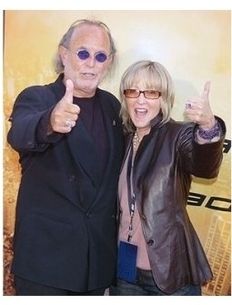 """Producers Avi Arad  and Laura Ziskin at the """"Spider-Man 2"""" Premiere"""