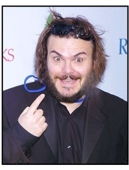 "Jack Black at the NRDC's ""Earth to L.A.!-The Greatest Show on Earth"" Benefit"