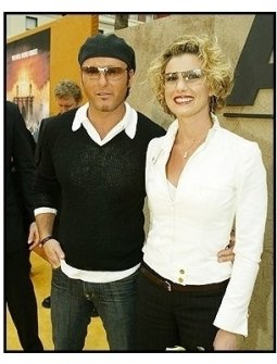 """Tim McGraw and Faith Hill at """"The Alamo"""" Premiere"""
