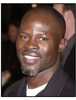 "Djimon Hounsou at the ""Against the Ropes"" Premiere"