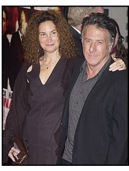 Dustin Hoffman and wife Lisa at the Runaway Jury Premiere