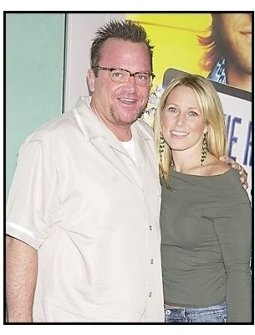 """Tom Arnold and wife Shelby at the """"Dickie Roberts: Former Child Star"""" premiere"""