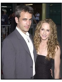 "Holly Hunter and  date Gordon MacDonald at the ""Thirteen"" premiere"