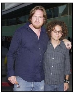 "Donal Logue and Griffin Frazen at the ""American Splendor"" premiere"