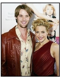 """ONE TIME USE ONLY:  Jesse Spencer and Brittany Murphy  at the """"Uptown Girls"""" premiere"""