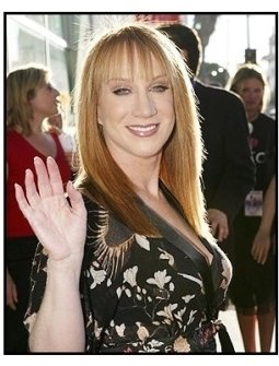"""ONE TIME USE ONLY:  Kathy Griffin at the """"Uptown Girls"""" premiere"""