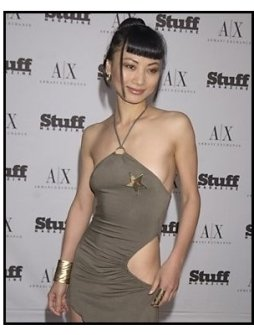 Bai Ling at the Stuff Magazine A/X Beachdance Party