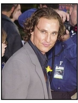 "Matthew McConaughey at the ""2 Fast 2 Furious"" Premiere"