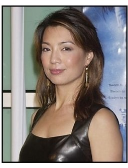 "Ming Na at the ""Dark Blue"" premiere"