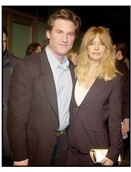 "Kurt Russell and Goldie Hawn at the ""Dark Blue"" premiere"