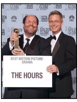2003 Golden Globe Awards Backstage:Scott Rudin and Stephen Daldry