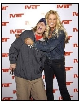 Ivar launch: Wesley Reid Scantlin of Puddle of Mudd with supermodel Kylie Bax