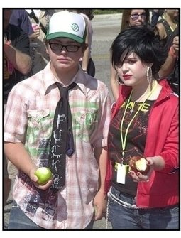 Teen Choice Awards 2002: Jack and Kelly Osbourne