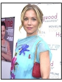 Christina Applegate at the 2002 Movieline Young Hollywood Awards