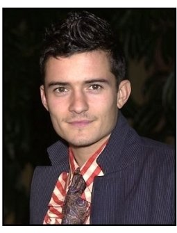 Orlando Bloom at the The Lord of the Rings: The Fellowship of the Ring premiere