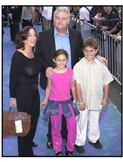 Randy Newman and family at the Monsters Inc premiere