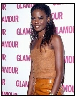 Tangi Miller at the 2000 pre-Emmy bash