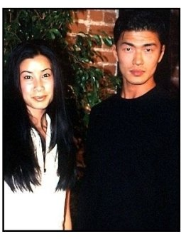 Lisa Ling and Rick Yune at Back to School Night