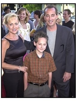 Jake Thomas and parents at the A.I. Artificial Intelligence premiere