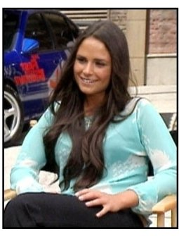 The Fast and the Furious interview video still: Jordana Brewster