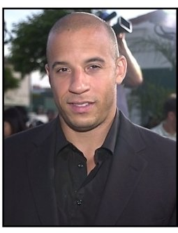 Vin Diesel at The Fast and the Furious premiere
