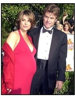 Lisa Rinna and Harry Hamlin at the 2001 American Comedy Awards