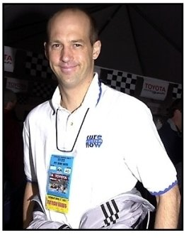 Anthony Edwards at the 25th Annual Toyota Pro/Celebrity Race