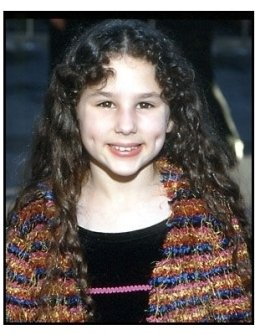 Hallie Kate Eisenberg at the 2000 Hollywood Reporter YoungStar Awards