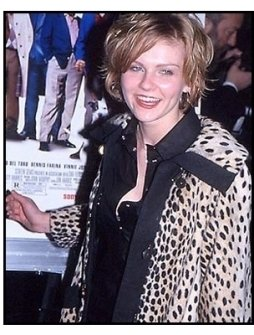 Kirsten Dunst at the Snatch premiere