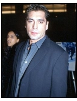 Javier Bardem at the Before Night Falls premiere