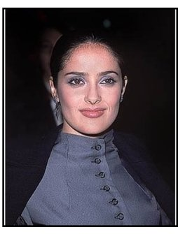 "Salma Hayek at ""The Faculty"" Premiere"