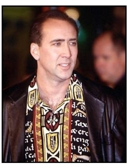 Nicolas Cage at The Family Man premiere