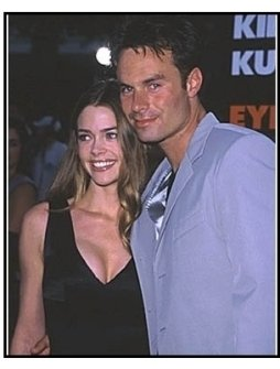 "Denise Richards and Patrick Muldoon at the ""Eyes Wide Shut"" Premiere"