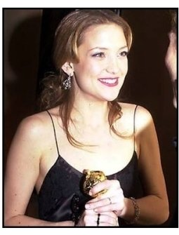 Kate Hudson at the 2001 Golden Globe Awards Universal / DreamWorks Party