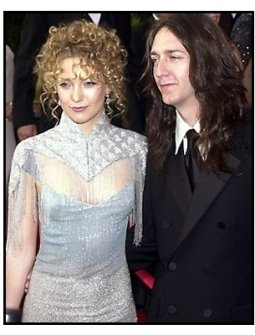 Kate Hudson and Chris Robinson at the 2001 Academy Awards