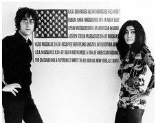 The U.S. vs. John Lennon Movie Stills:  John Lennon and Yoko Ono