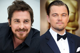 Christian Bale and Leonardo DiCaprio