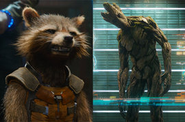 Rocket and Groot, Guardians of the Galaxy