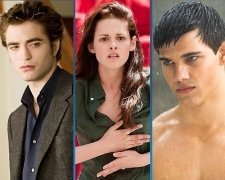 Twilight: Bella, Edward, Jacob