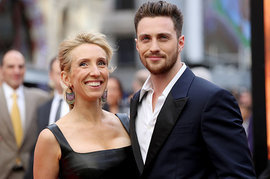 Aaron Taylor-Johnson and Sam Taylor Wood