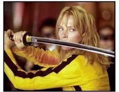 """Kill Bill Vol. 1"" movie still: Uma Thurman"