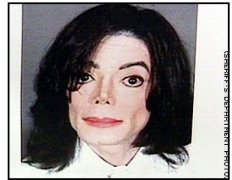 Michael Jackson booking photo