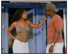 """Out of Time"" Movie Still: Sanaa Latha and Denzel Washington"