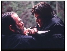 """The Hunted"" Movie Still: Tommy Lee Jones and Benicio Del Toro"