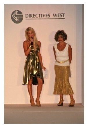 Paris Hilton and Sandy Richman